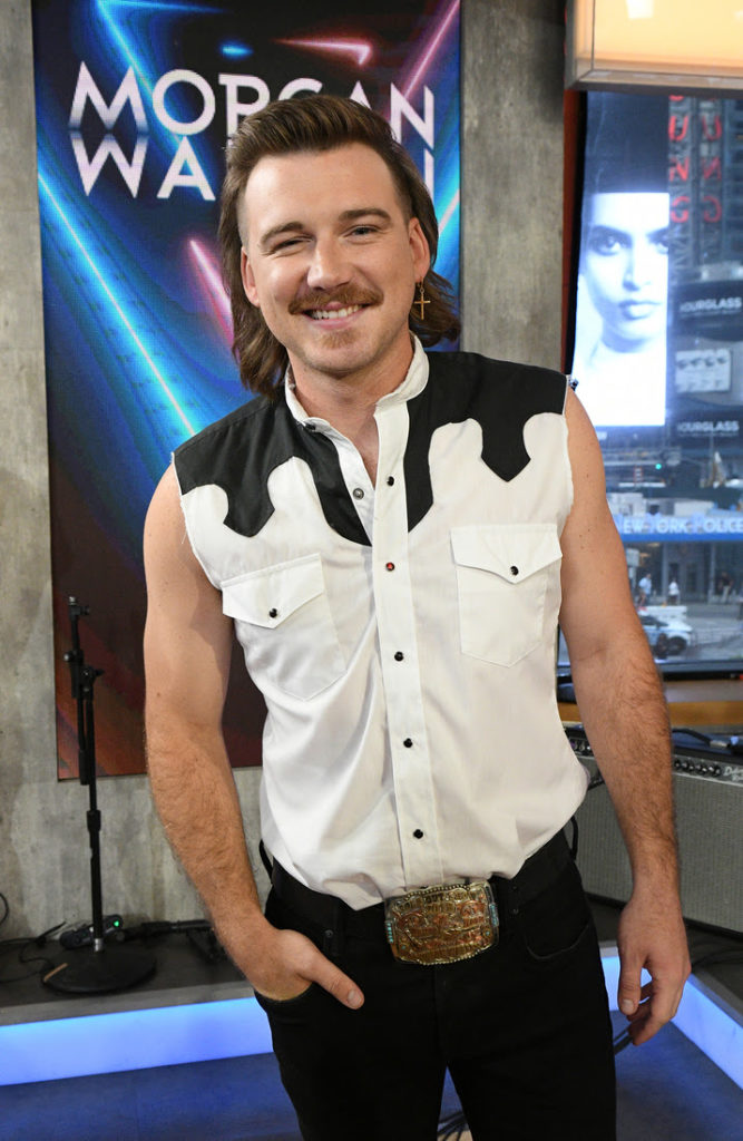 Morgan Wallen Brings True Country Flair To Abc S Good Morning Americabig Loud Management Big Loud Management